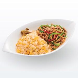 W-52 炒飯プレート(チンジャオ&玉子炒飯) 並盛