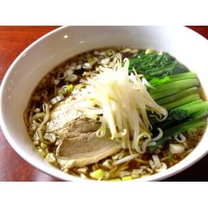 【866】醤油刀削麺