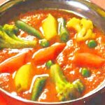 野菜カレー/Vegetable curry