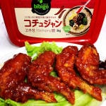 甘辛ヤンニョム手羽 Domestic Chicken Wings with Sweet and Spicy Yangnyeom Sauce 4 Pieces