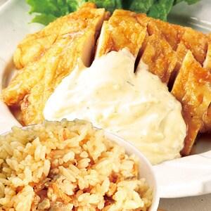 【2枚】チキン南蛮弁当→とりめし変更普通盛