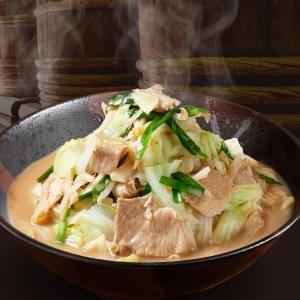 出前本 蔵出し味噌の野菜たっぷりラーメン(並)