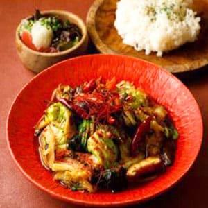 激辛野菜炒め弁当