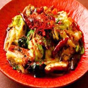 激辛野菜炒め