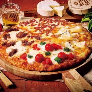 【半額】期間限定!贅沢チーズと炭火焼牛カルビのクォーターズ Mサイズ