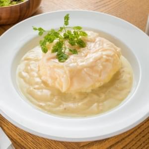 【YG13】ホワイトオムライス-濃厚ホワイトチーズソース