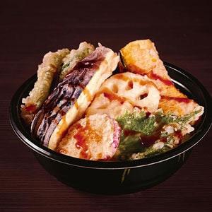 【71】野菜天丼