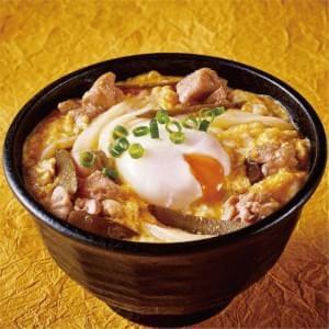 【U30】鶏とごぼうの玉子とじうどん