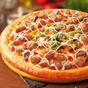 ピザクック 牛カルビ&サーロインステーキ