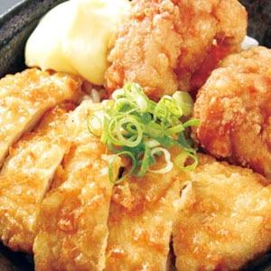 チキン南蛮丼(300)(からあげ2個付)