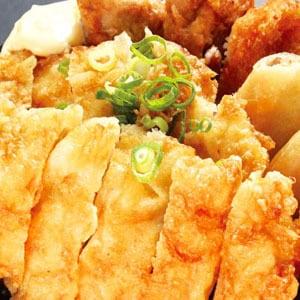 チキン南蛮丼ダブル(500)(唐揚2+コロッケ1+春巻1)