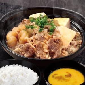 コク旨すき焼き鍋弁当(たまご付)
