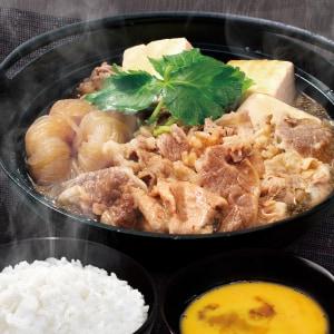 コク旨すき焼き鍋弁当(肉ダブル)(たまご付)