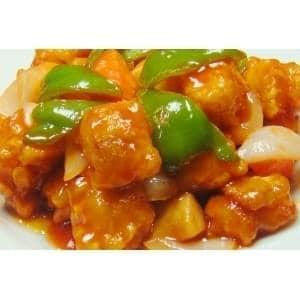 3331白身魚甘酢ソース炒め