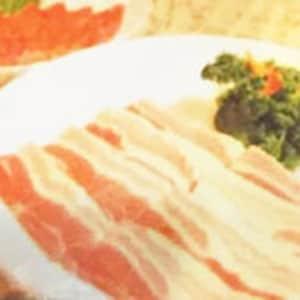 国産生サムギョプサル焼き
