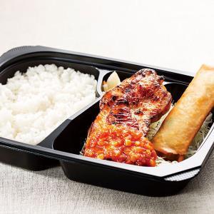 ガスト (ランチ)チキンガーリック&春巻き弁当
