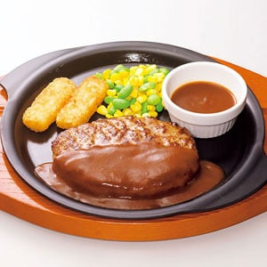 ガスト ハンバーグステーキ弁当