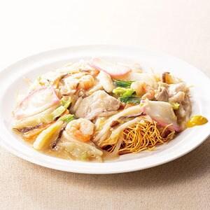 長崎 たっぷり野菜の海鮮皿うどん