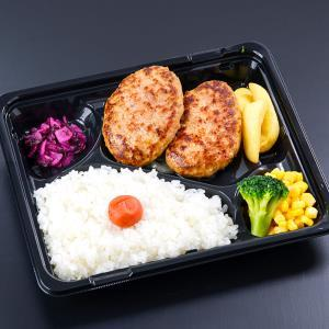 自家製ハンバーグ定食(ライス・ソース付)