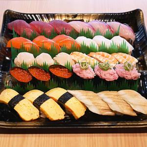 【定番寿司盛り】並3人前 3人前