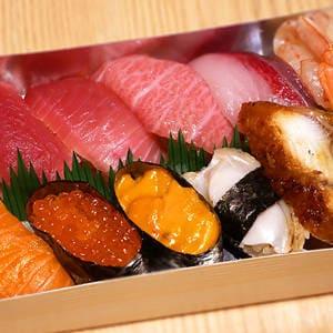 【贅沢寿司盛り】最得上1人前 1人前
