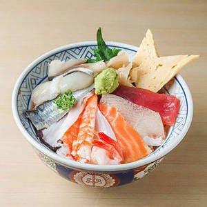 海鮮10種丼 並盛