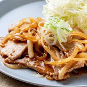 豚肩ロースの生姜焼き定食