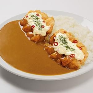 【相性良】チキン南蛮カレー