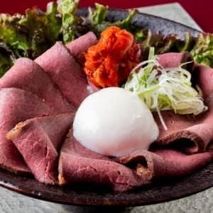 【D758】ローストビーフキムチ丼 並盛