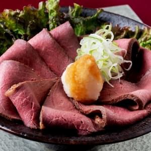 【D764】みぞれポン酢ローストビーフ丼 並盛