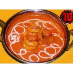 【10】海老カレー/Prawn Curry カレーのみ