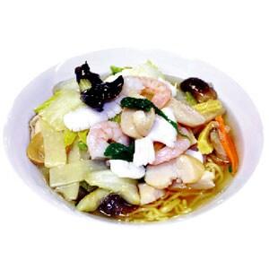 【68】海鮮あんかけソバ(海鮮湯麺)