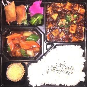 麻婆豆腐と酢豚BIG弁当