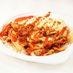 チキンケバブ丼