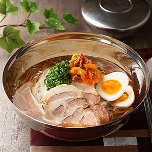 冷麺と炒飯セット