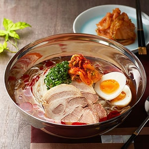 辛冷麺と炒飯セット