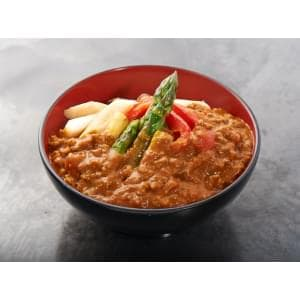 野菜カレー丼 Vegetable curry rice bowl