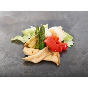 野菜の鉄板グリル Vegetable iron plate grill