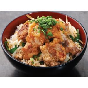 和牛サーロインと大山鶏のWステーキ丼 W beef sirloin and Oyama chicken W steak bowl