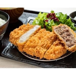 【KR4】熟成ロースカツ&自家製メンチ弁当
