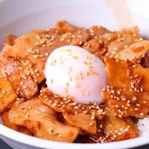 元祖十勝温玉豚丼 150g