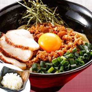 【チョイ辛】台湾まぜそば+鶏むね肉+追飯