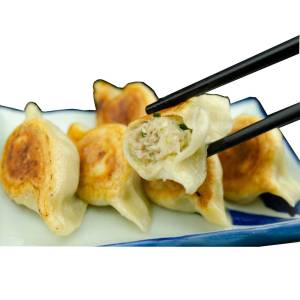 デッカイ野菜多ぶり焼き餃子