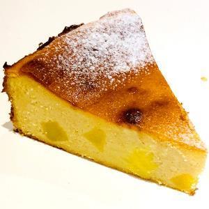 バスク風 さつまいもチーズケーキ