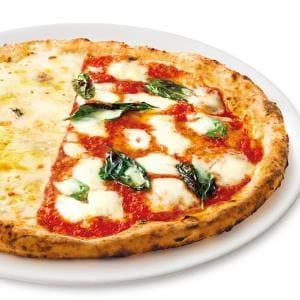 ハーフ&ハーフ(Lサイズ)マルゲリータ/4種のチーズのピッツァ Lサイズ