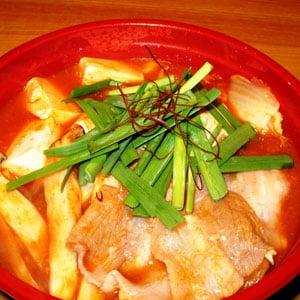 激辛チゲ鍋