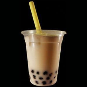 インド定食 ターリー屋 【14】アイスチャイタピオカ(Ice Chai Tapioca)