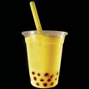 【17】マンゴージュースタピオカ500ml(Mango Juice Tapioca)