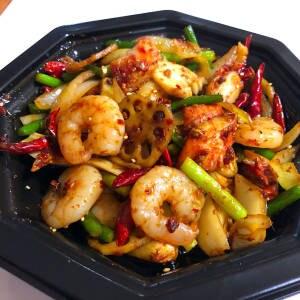 麻辣香鍋(海鮮入り)