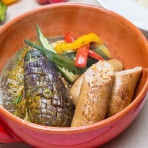 【WT3】ジャンボソーセージのスープカレー
